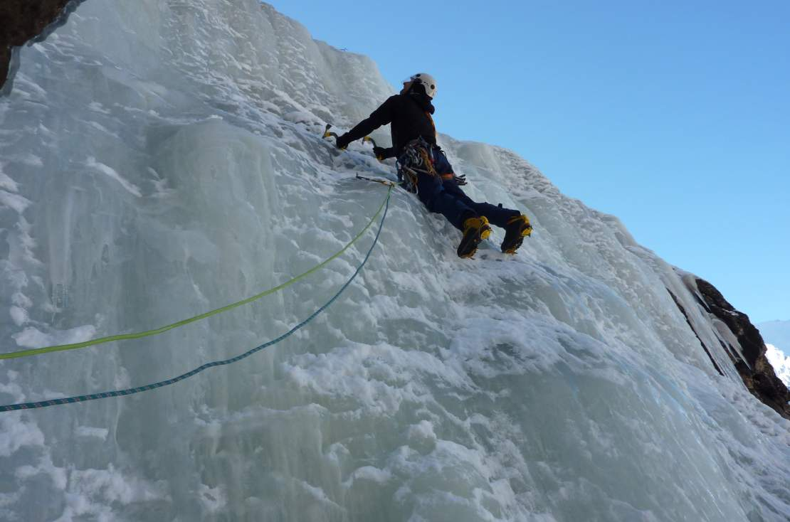 Winter package - Climbing Icefall